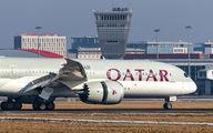 A7-BHD - Qatar Airways Boeing 787-9 Dreamliner aircraft