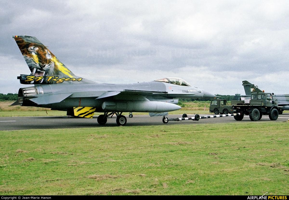Belgium - Air Force FA-122 aircraft at Kleine Brogel