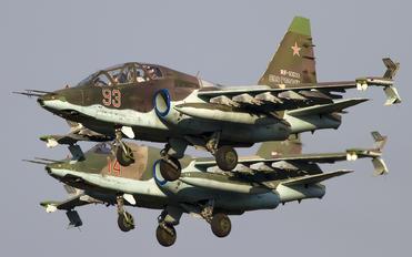 RF-93033 - Russia - Air Force Sukhoi Su-25UB