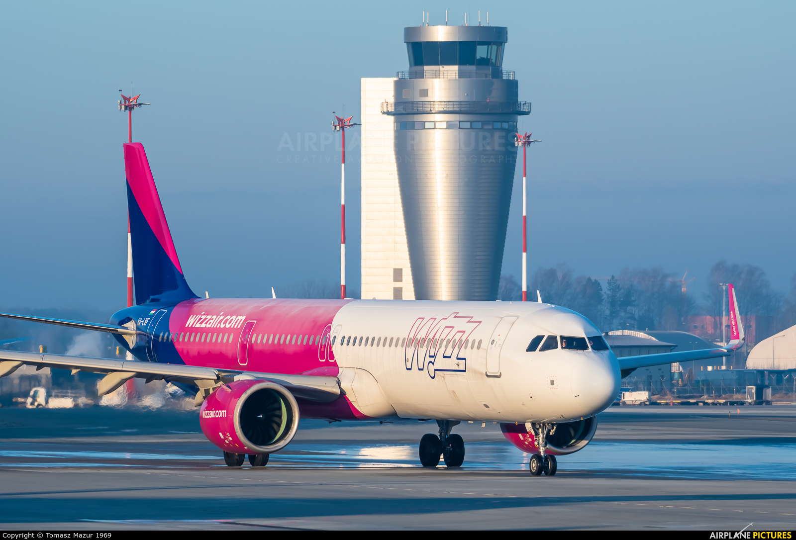 Wizz Air HA-LVF aircraft at Katowice - Pyrzowice