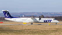 SP-EQF - LOT - Polish Airlines de Havilland Canada DHC-8-402Q Dash 8 aircraft