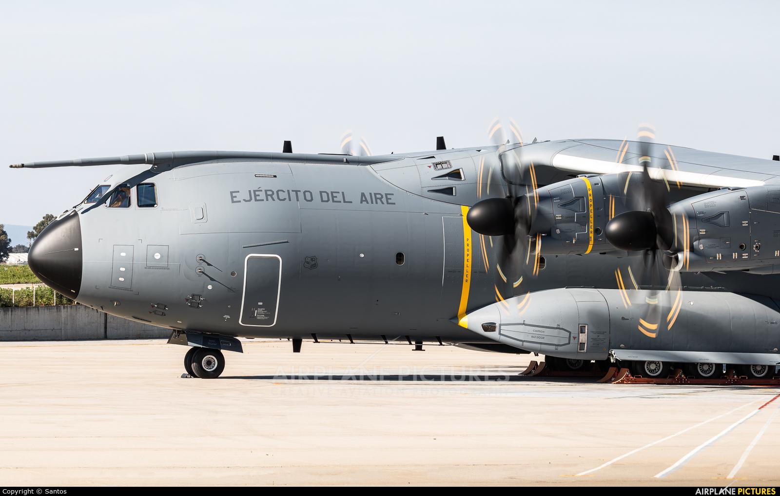 Spain - Air Force T.23-10 aircraft at Seville - San Pablo