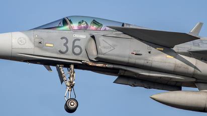 36 - Hungary - Air Force SAAB JAS 39C Gripen