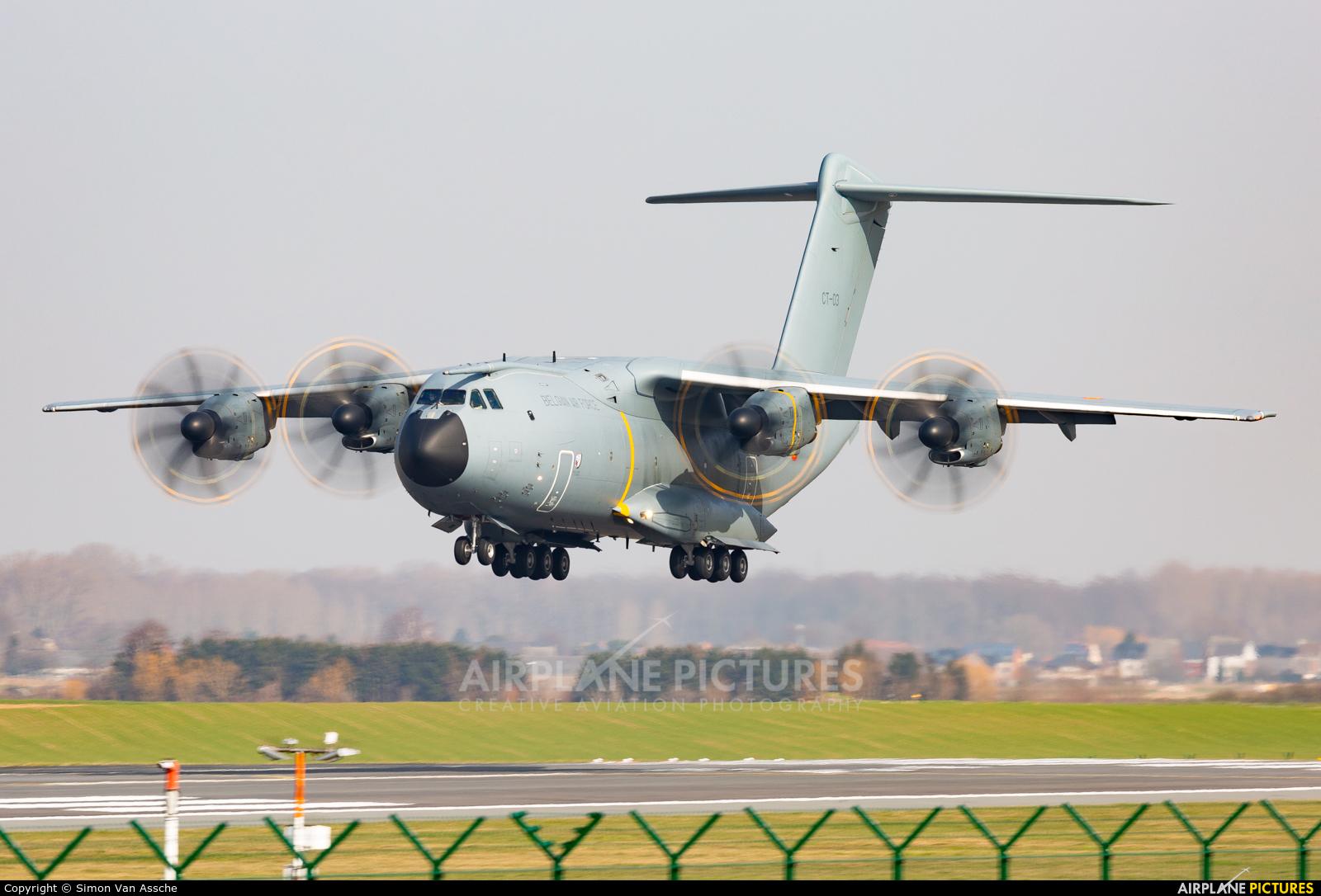 Belgium - Air Force CT-03 aircraft at Brussels - Zaventem