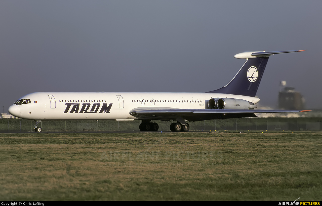 Tarom YR-IRE aircraft at London - Heathrow