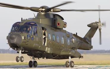 ZJ998 - Royal Air Force Agusta Westland AW101 411 Merlin HC.3