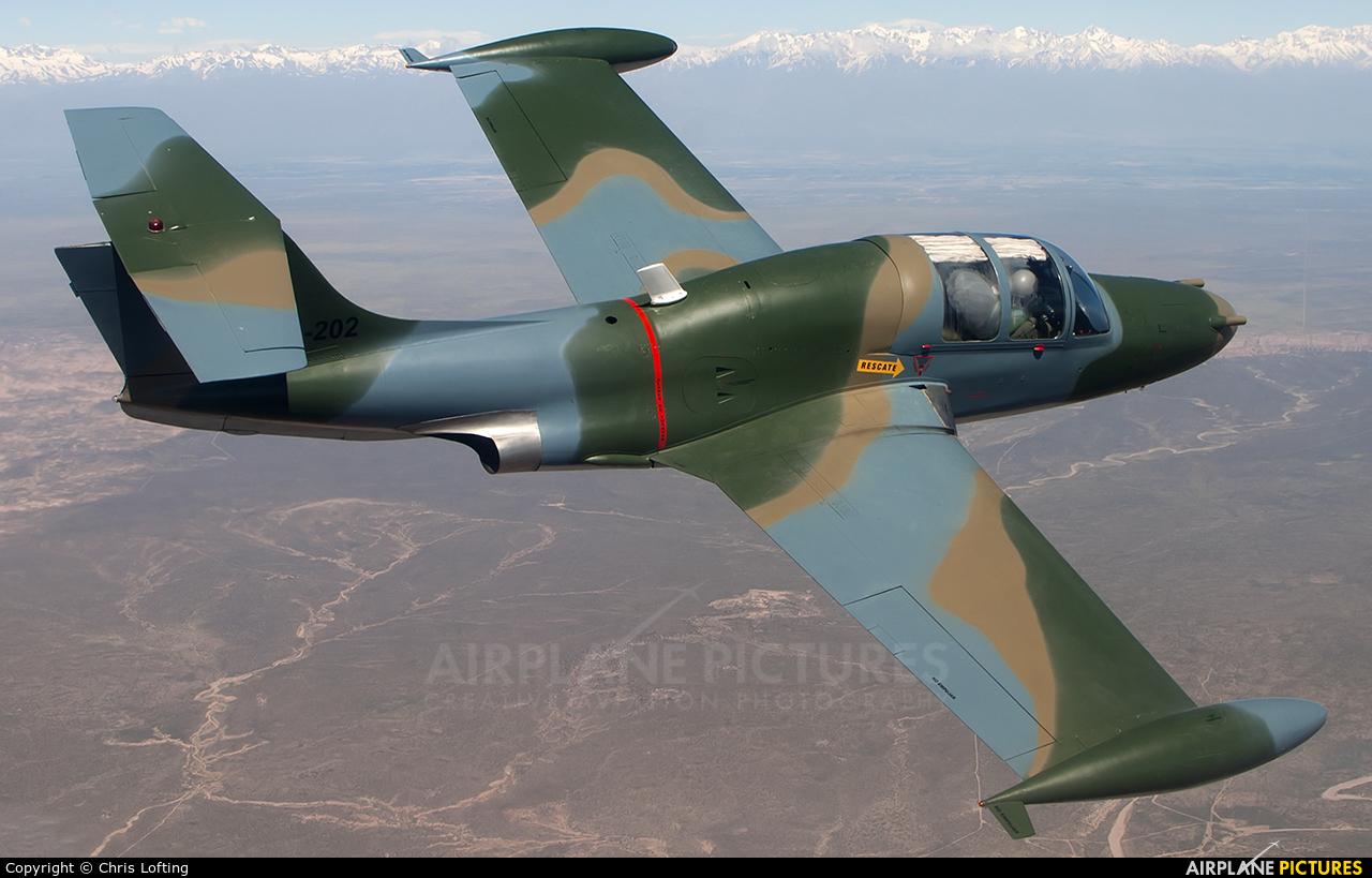 Argentina - Air Force E-202 aircraft at In Flight - Argentina