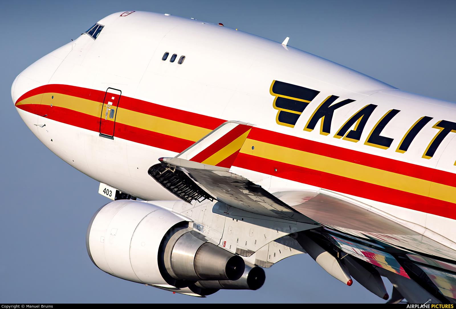 Kalitta Air N403KZ aircraft at Amsterdam - Schiphol
