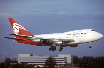 VH-EAB - Australia Asia Boeing 747SP