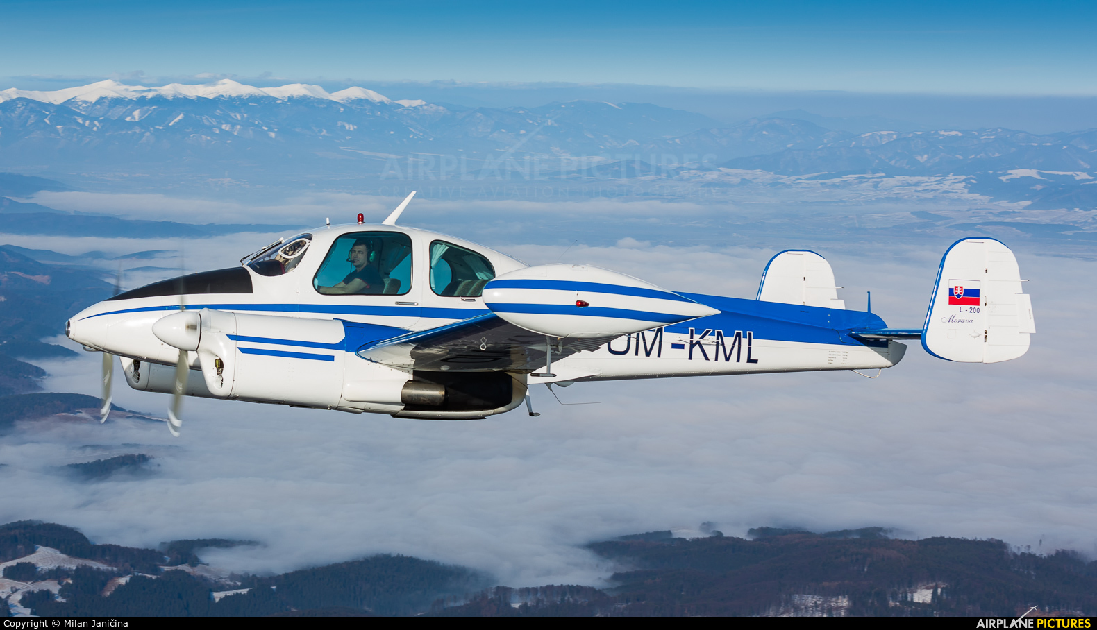 Private OM-KML aircraft at In Flight - Slovakia