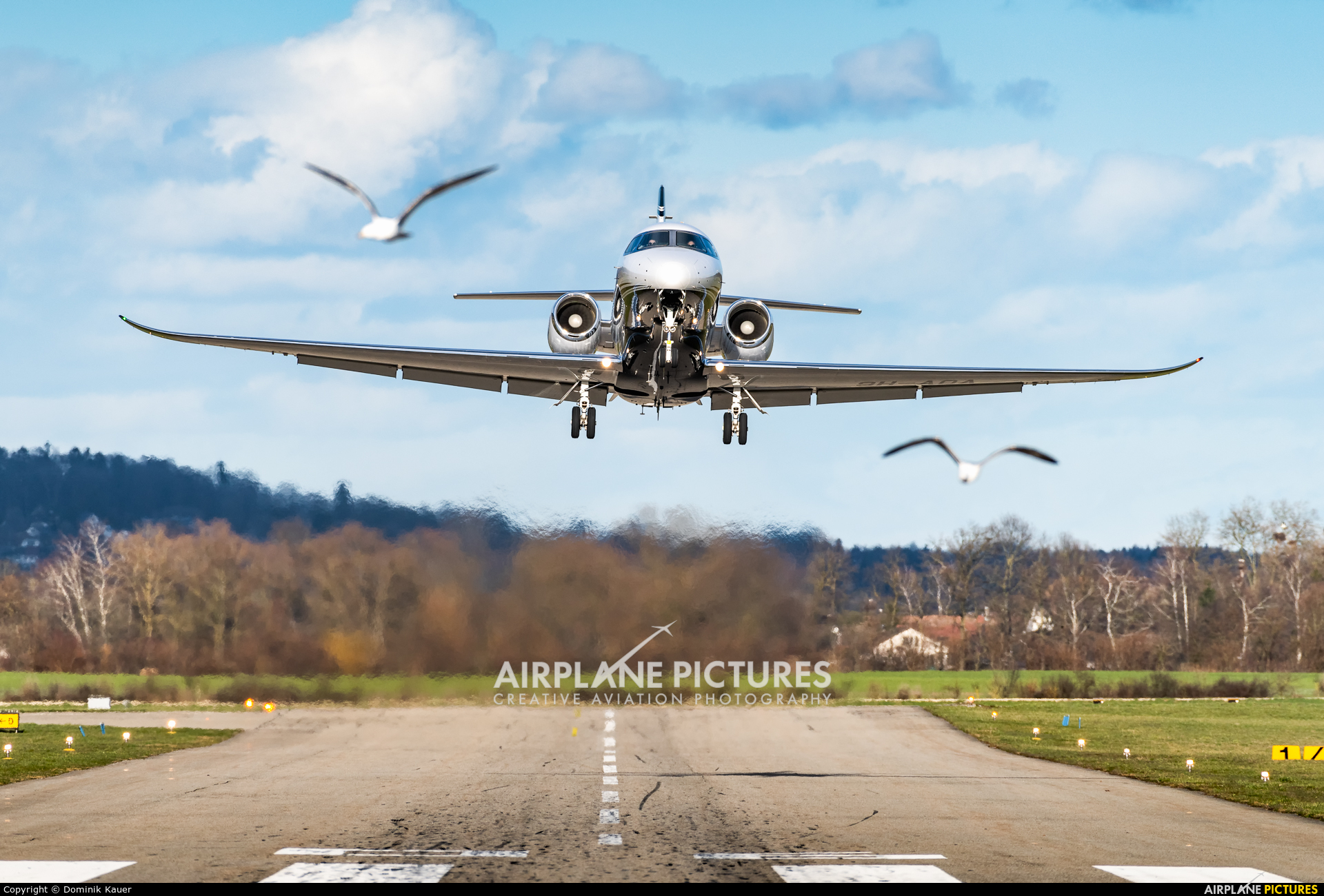 Albinati Aéronautics 9H-AOA aircraft at Grenchen