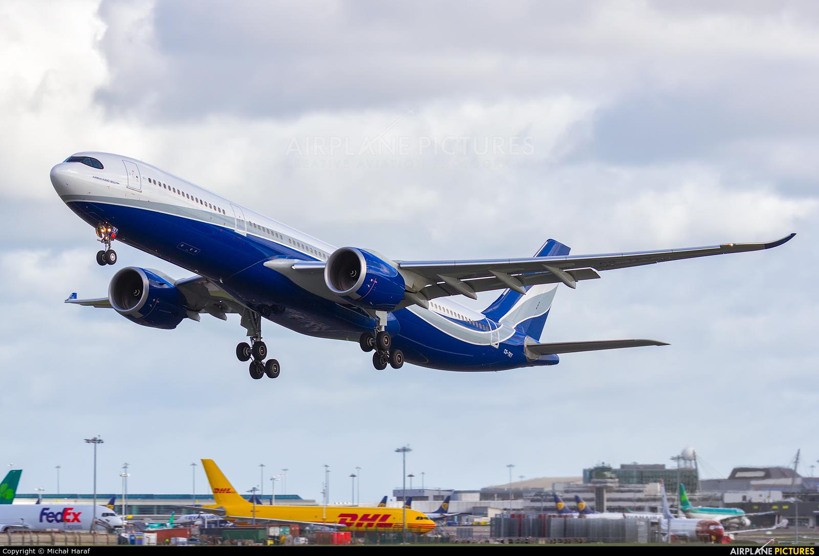 Hi Fly Malta CS-TKY aircraft at Dublin