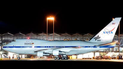 N747NA - NASA Boeing 747SP