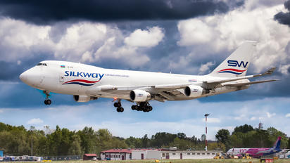 VP-BCR - Silk Way Airlines Boeing 747-400F, ERF