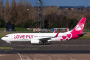 VP-BQR - Love Fly Boeing 737-800 aircraft