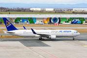 Rare visit of Air Astana Cargo to Prague title=