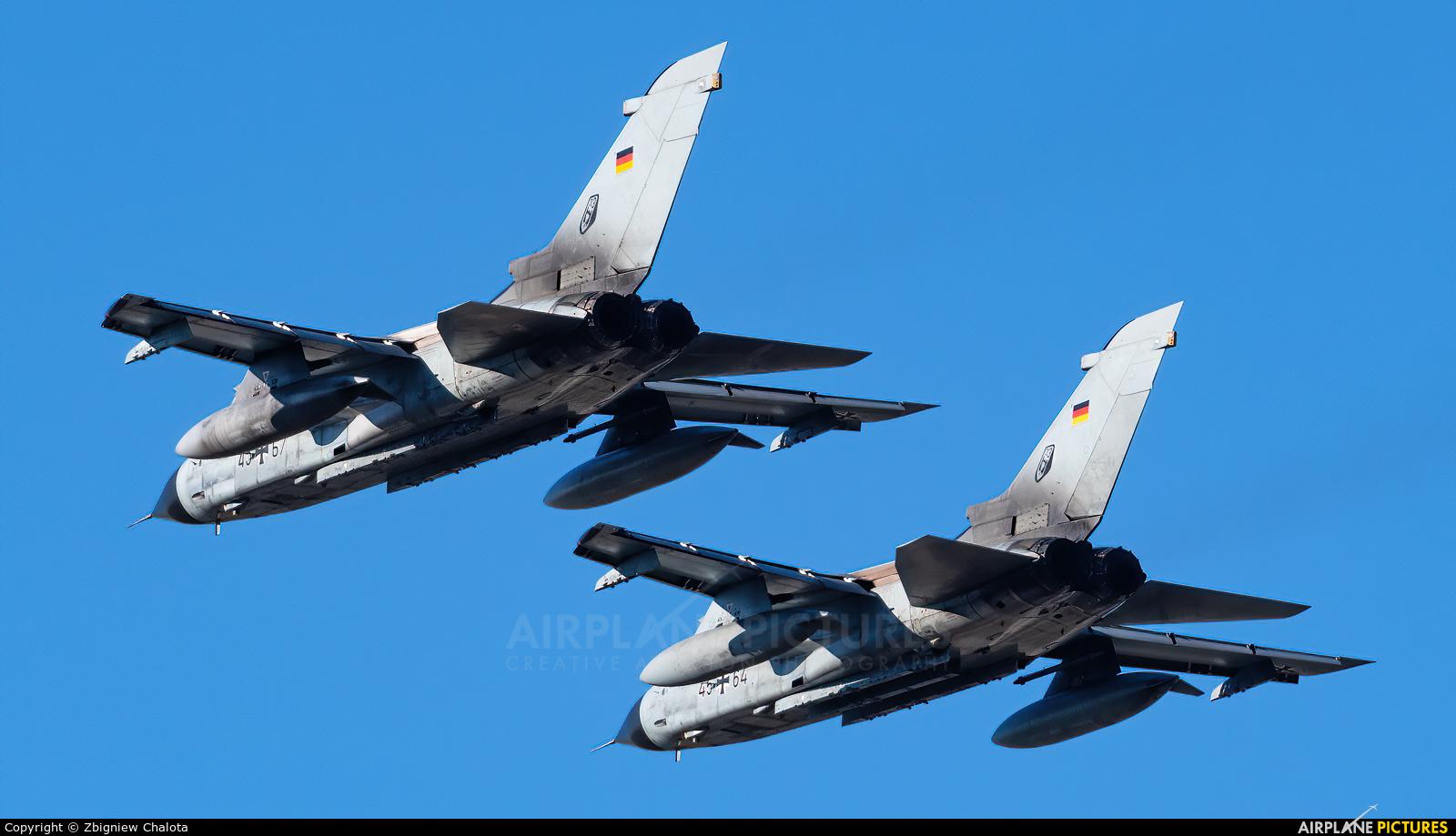 Germany - Air Force 45+67 aircraft at Ingolstadt - Manching