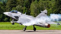 39223 - Sweden - Air Force SAAB JAS 39C Gripen aircraft