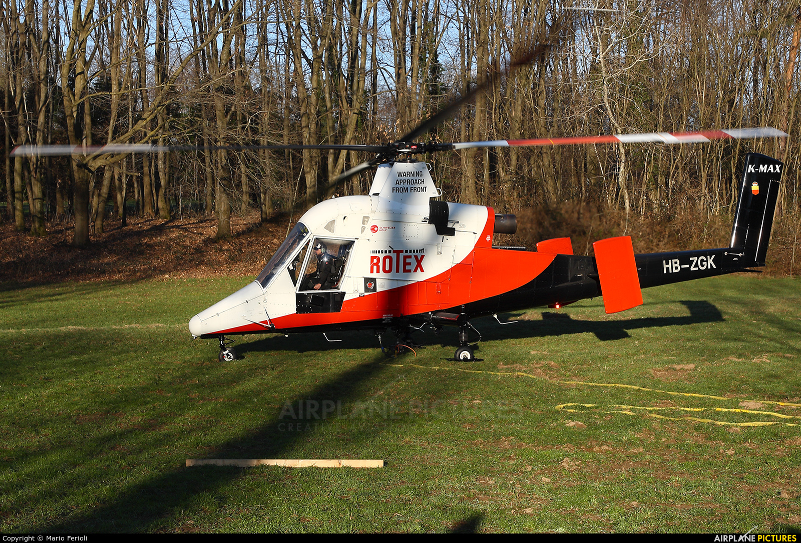 ROTEX HB-ZGK aircraft at Off Airport-Gornate Olona (Varese) Italy