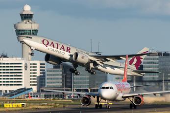 A7-BFL - Qatar Airways Cargo Boeing 777F