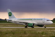 D-ASTY - Germania Airbus A319 aircraft