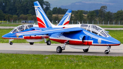 "E98 - France - Air Force ""Patrouille de France"" Dassault - Dornier Alpha Jet E"