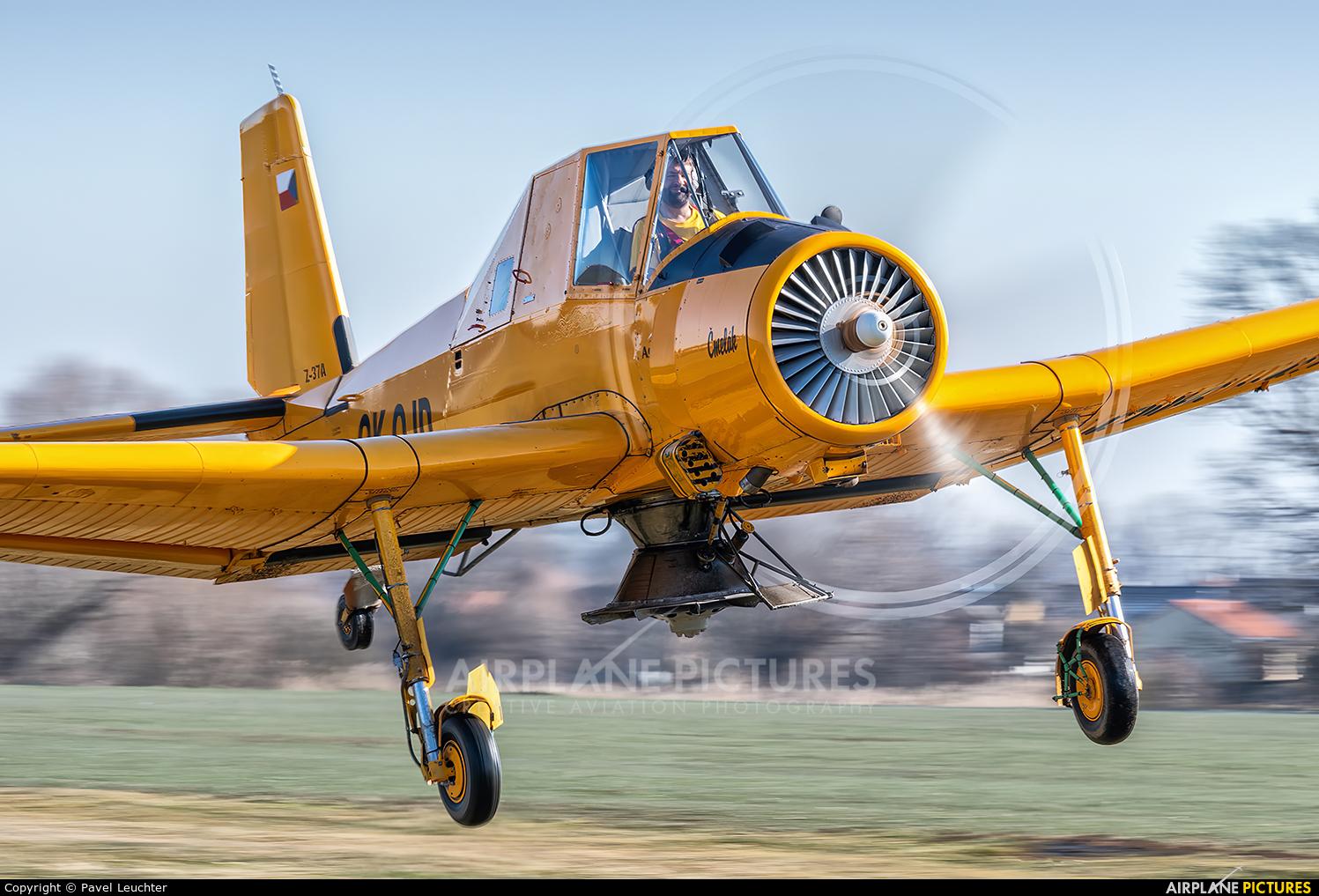 Agroair OK-OJD aircraft at Off Airport - Czech Republic