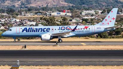 N912QQ - Alliance Airlines Embraer ERJ-190 (190-100)