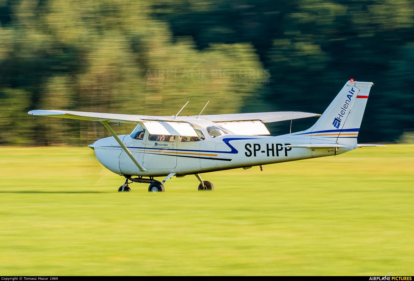 HelenAir SP-HPP aircraft at Rybnik - Gotartowice
