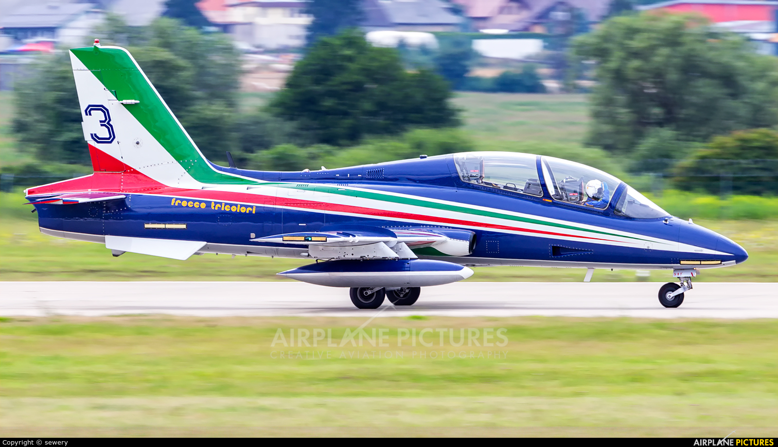 """Italy - Air Force """"Frecce Tricolori"""" MM54517 aircraft at Sliač"""
