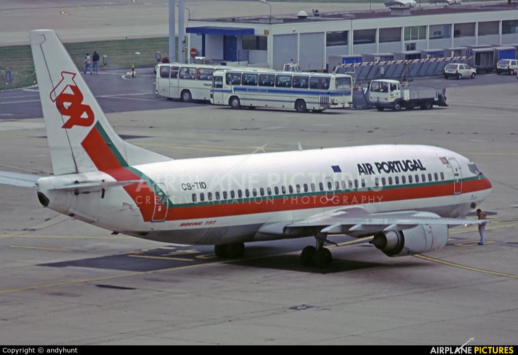 TAP Portugal CS-TID aircraft at Paris - Orly