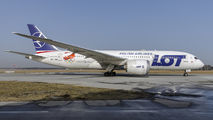 SP-LRH - LOT - Polish Airlines Boeing 787-8 Dreamliner aircraft