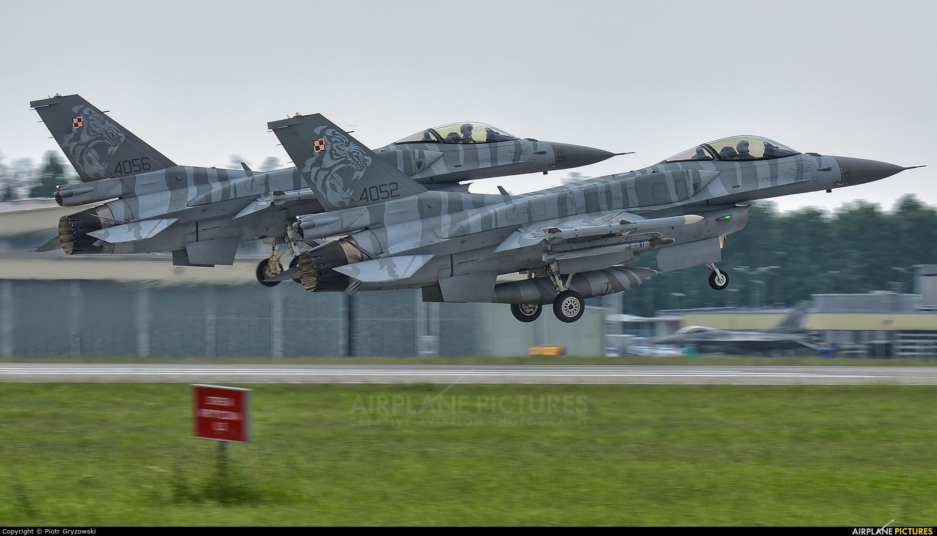 Poland - Air Force 4052 aircraft at Poznań - Krzesiny