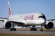 A7-ALR - Qatar Airways Airbus A350-900 aircraft