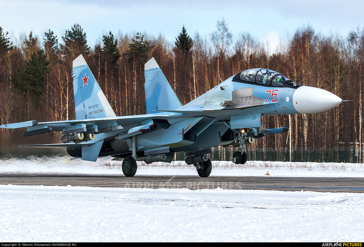 Russia - Air Force RF-81737 aircraft at Undisclosed Location
