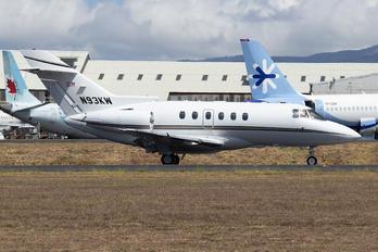 N93KW - Wilmington Trust Company Raytheon Hawker 750XP