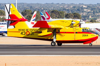 UD.14-01 - Spain - Air Force Canadair CL-415 (all marks)