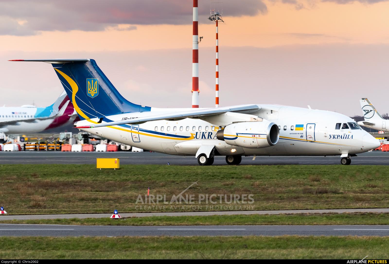 Ukraine - Government UR-UKR aircraft at Düsseldorf