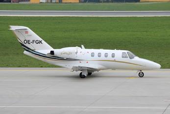 OE-FGK - Salzburg Jet Aviation Cessna 525 CitationJet