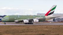Last ever built A380, last movement in primer paint ever title=