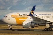 Rare visit of Mongolian Airlines 767 at Copenhagen title=