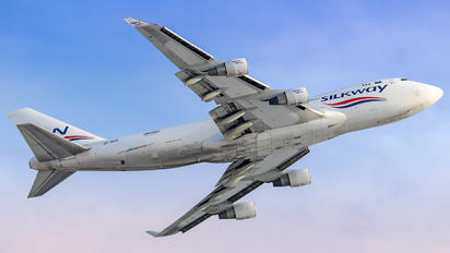VP-BCR - Silk Way Airlines Boeing 747-400BCF, SF, BDSF
