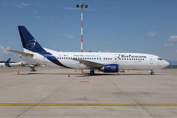 9H-HUE - Blue Panorama Airlines Boeing 737-400