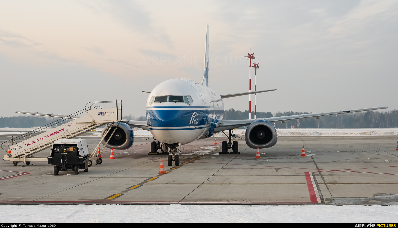 CargoLogic Germany D-ACLW aircraft at Katowice - Pyrzowice