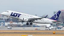 SP-LIC - LOT - Polish Airlines Embraer ERJ-175 (170-200) aircraft