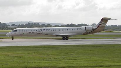 5A-LAE - Libyan Airlines Canadair CL-600 CRJ-900