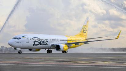 UR-UBA - Bees Airline Boeing 737-800
