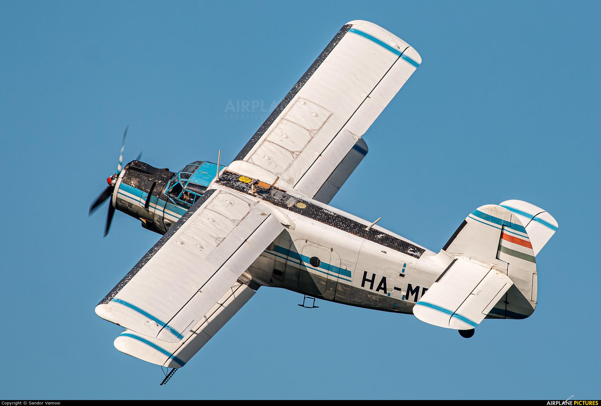 Private HA-MBA aircraft at Off Airport - Hungary