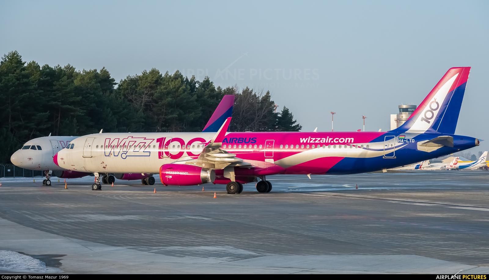 Wizz Air HA-LTD aircraft at Katowice - Pyrzowice