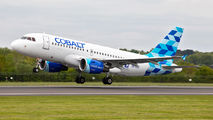 5B-DCU - Cobalt Airbus A319 aircraft